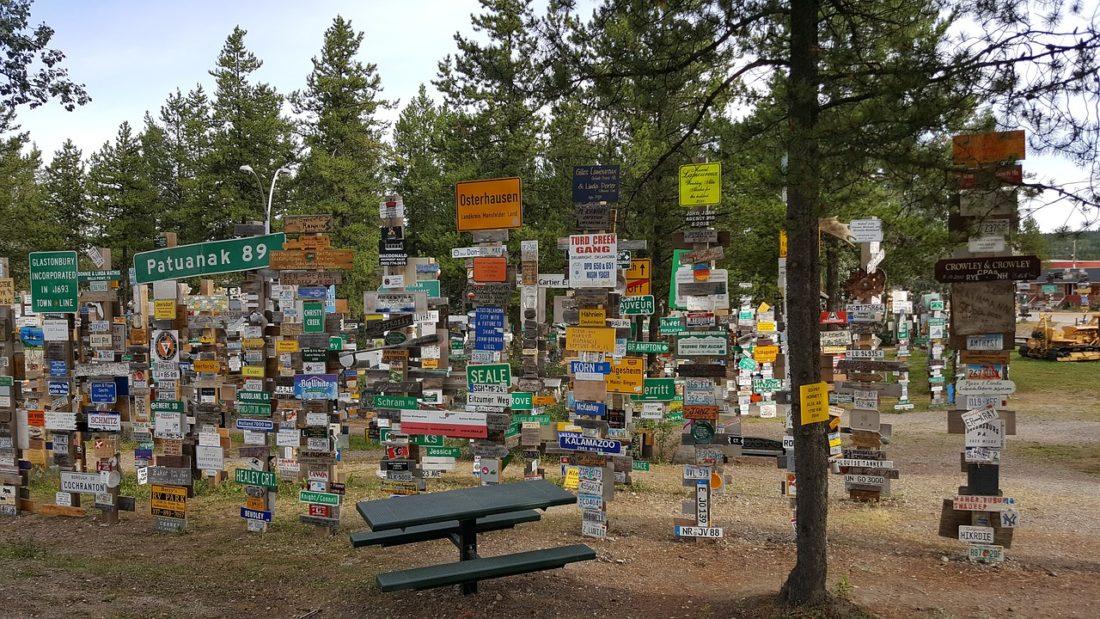 signpost-forest-watson-lake-yukon