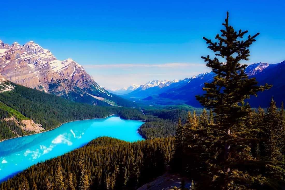 narodní parky kanada
