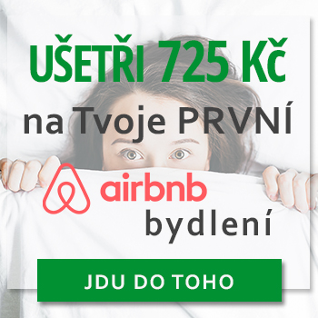 Sleva Airbnb