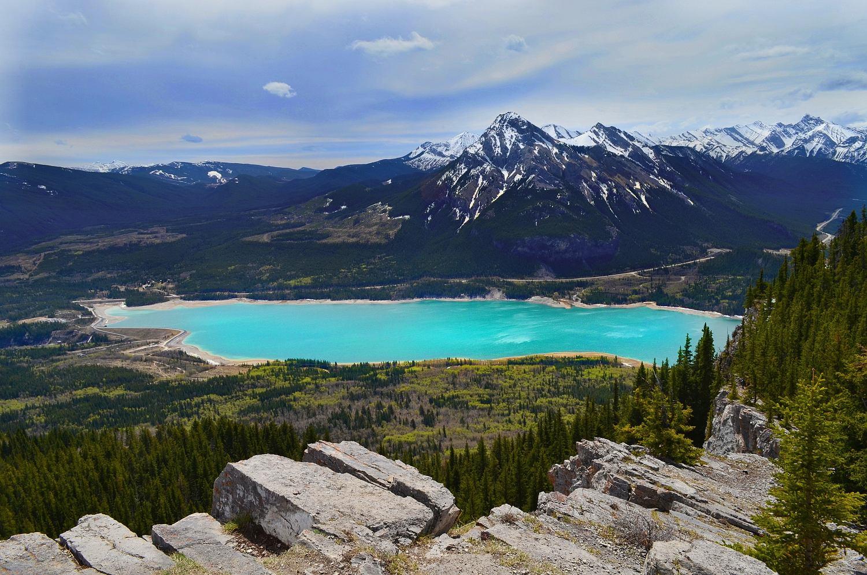 Barrier lake Alberta Kanada
