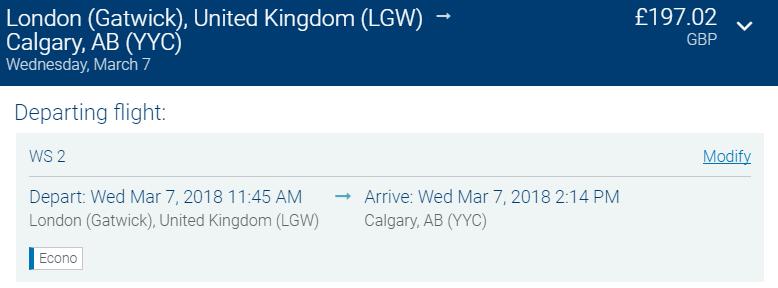 letenky do Kanady