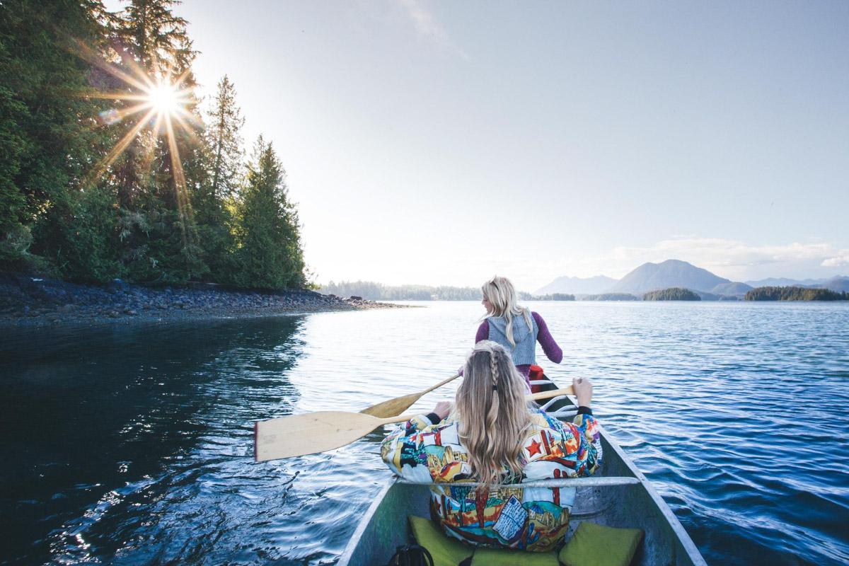 Rozhovor Martina Gebarovská o Kanadě - Tofino Canoe