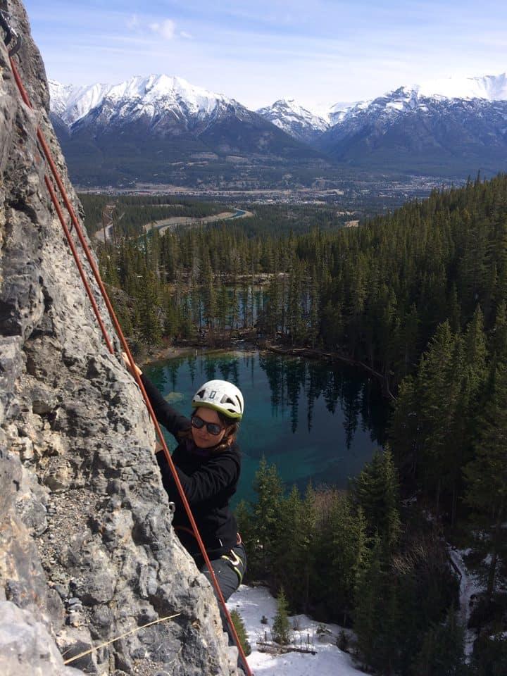 Skalní lezení v Kanadě