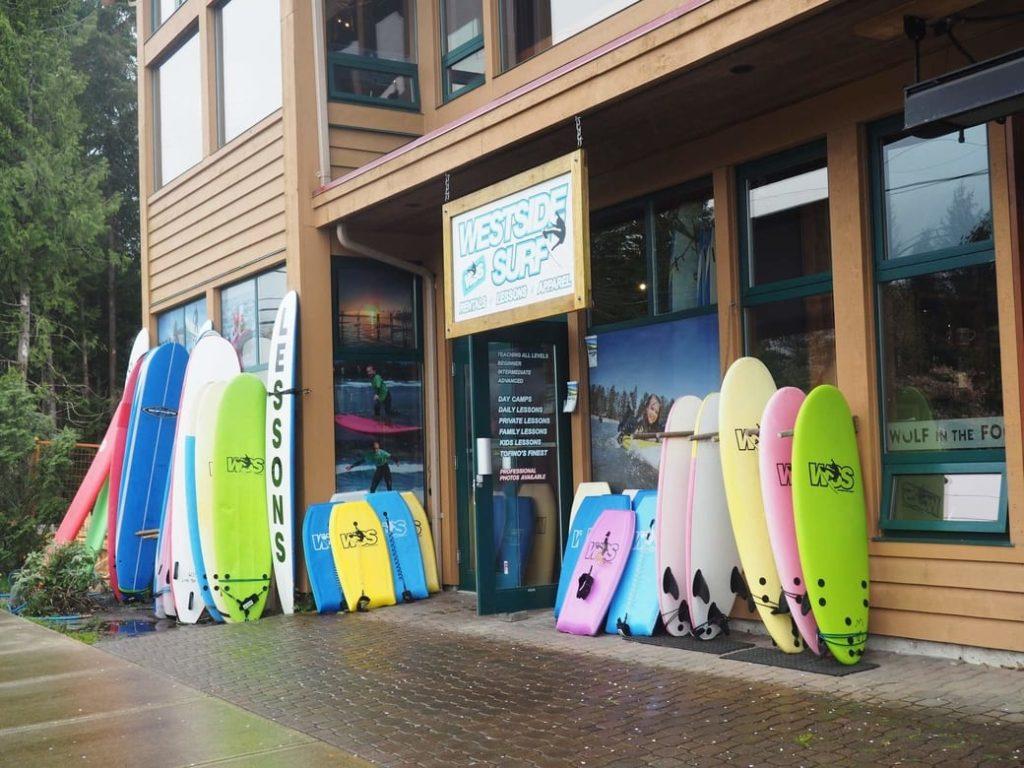 Surfování na Vancouver Island