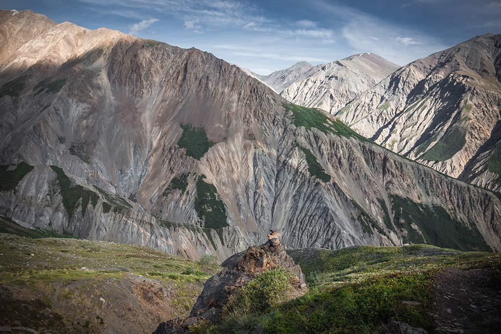 Výhledy do údolí během výstupu na Observation Mountain