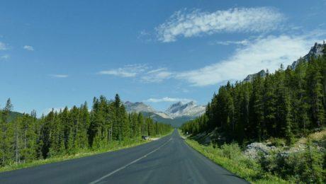 Vzdálenosti v Kanadě