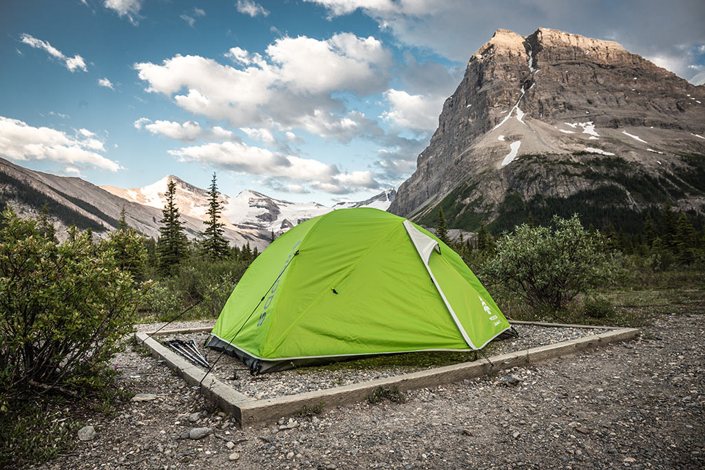 Robson Pass kemp