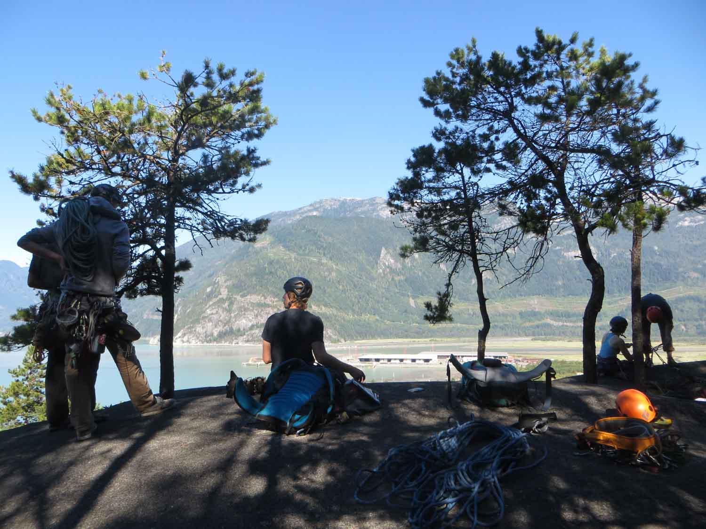The Malamute - lezecká oblast ve Squamishi