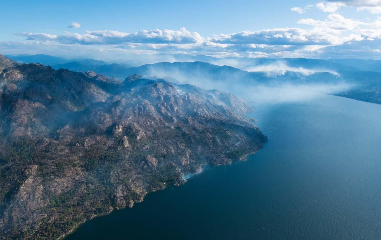Kanadské přírodní požáry Wildfire