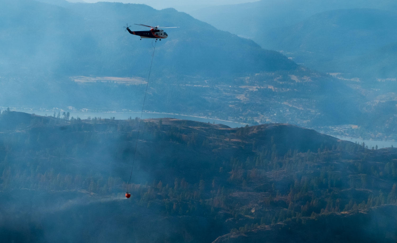 Kanadské požáry Wildfire