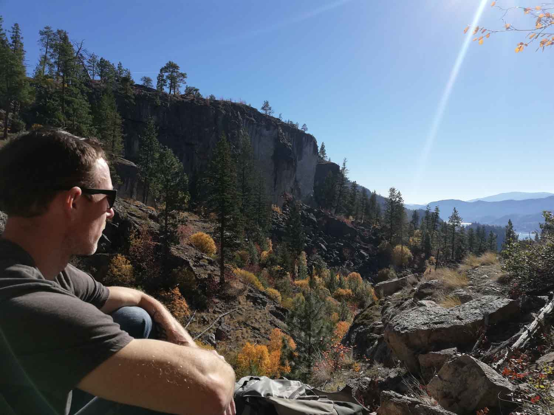 Okanagan Valley - lezecká oblast v kanadě