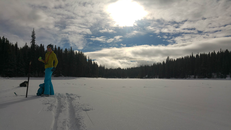 Okanagan valley zimní aktivity