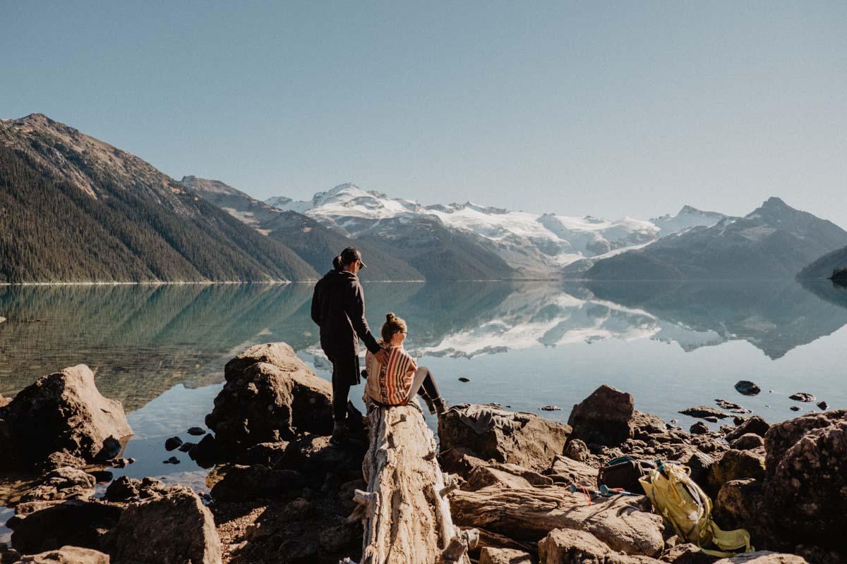 Rozhovor Gabi in Wanderland Kanada-Garibaldi Lake