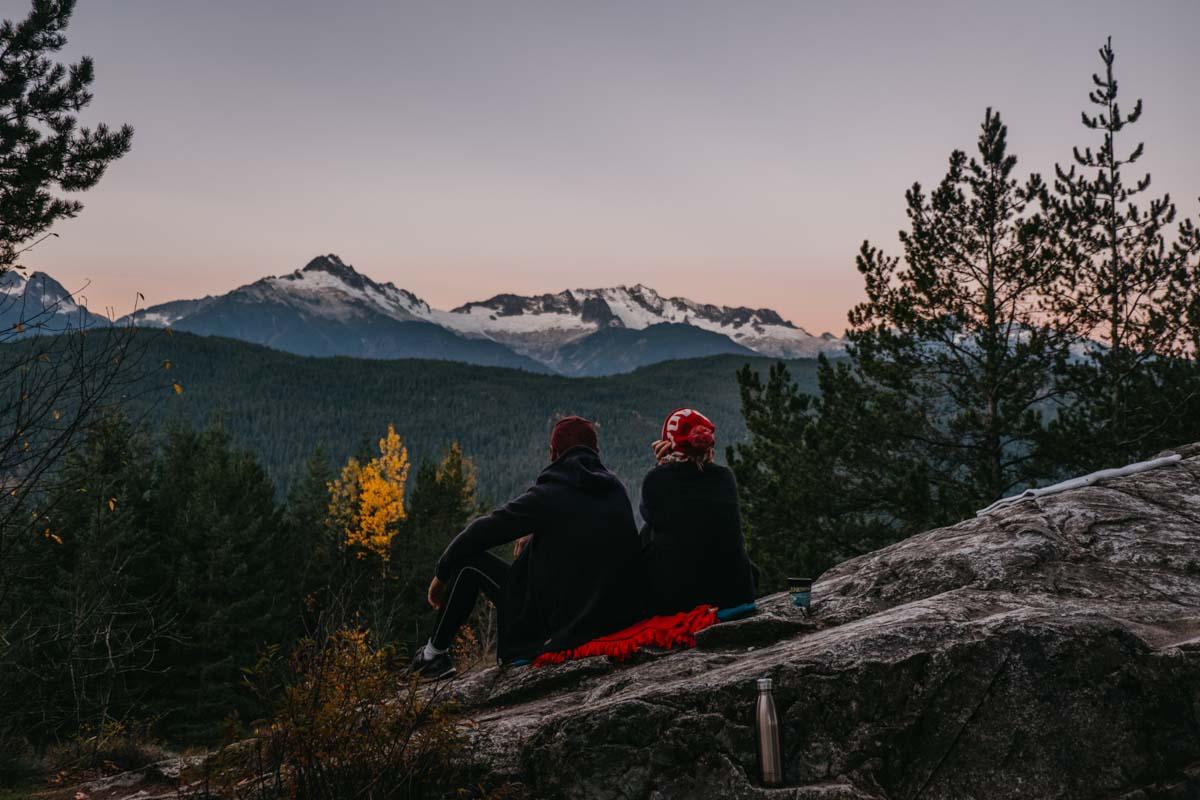 Gabi in Wanderland Kanada-Tantalus-Ridge-lookout