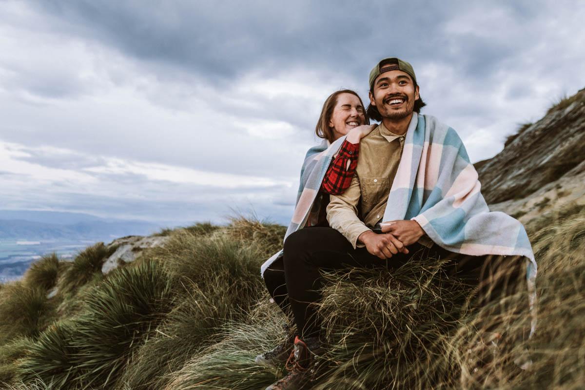 Rozhovor s Gabi in Wanderland NZ-Roys-Peak