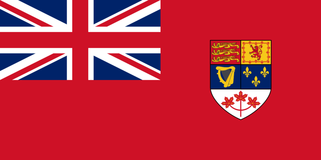 vlajka Canadian Red Ensign