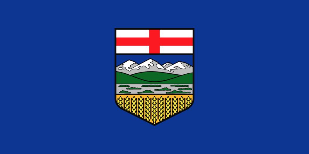 Vlajka provincie Alberta