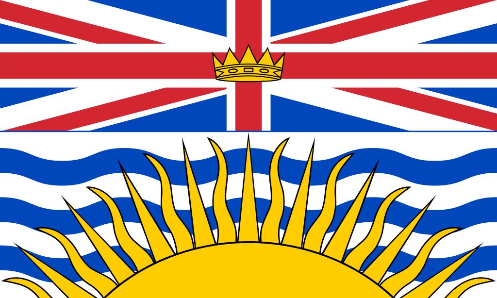 Vlajka provincie BC