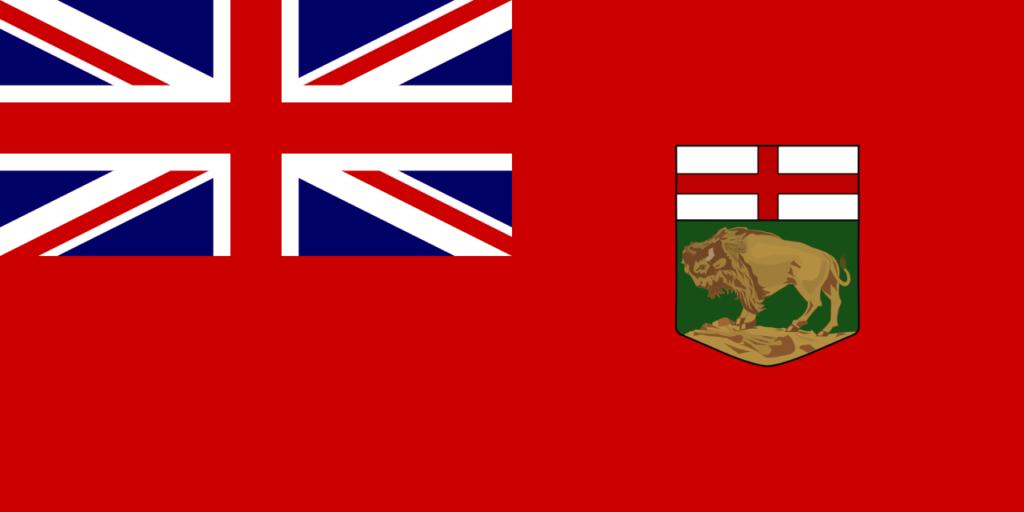 Vlajka provincie Manitba