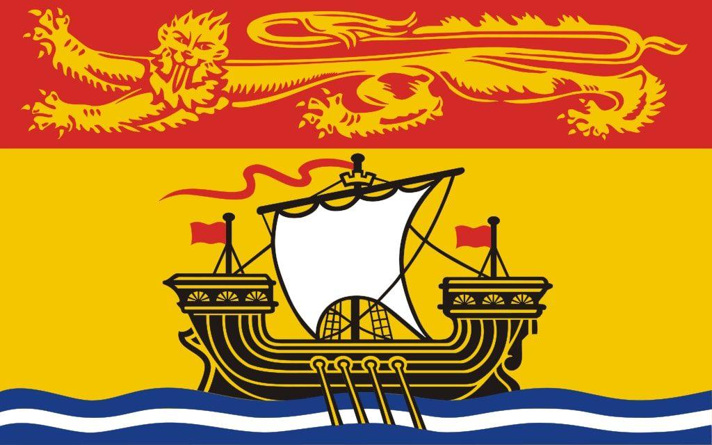 Vlajka provincie Nový Brunschwick