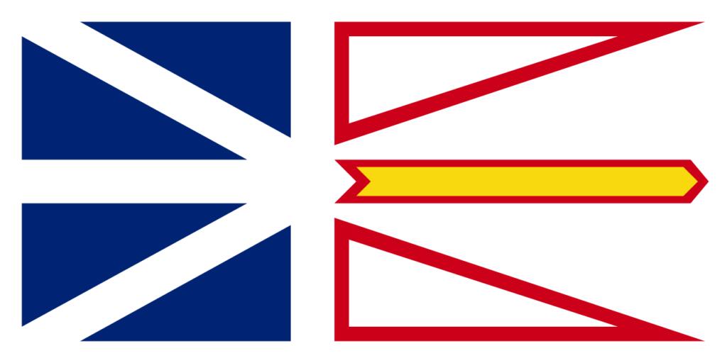 Vlajka Newfoundland a Labradorský ostrov