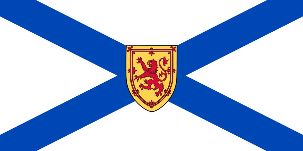 Vlajka provincie Nové Skotsko