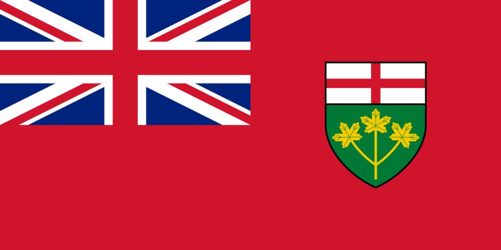 Vlajka Ontario
