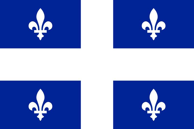 Vlajka Quebec