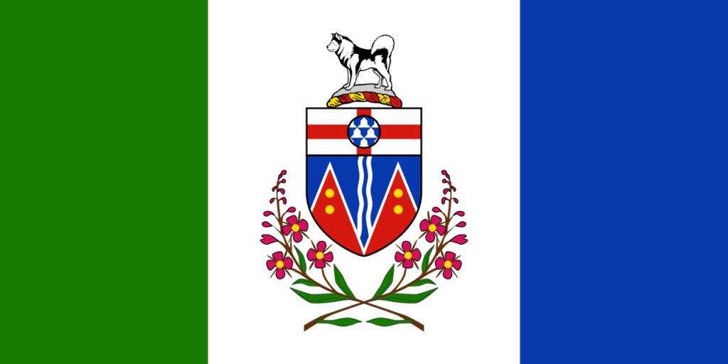 Vlajka provincie Yukon