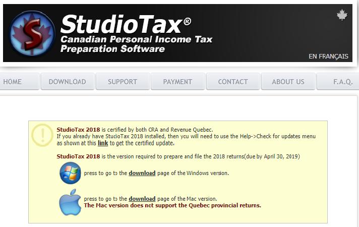 Vrácení daní přes Studiotax