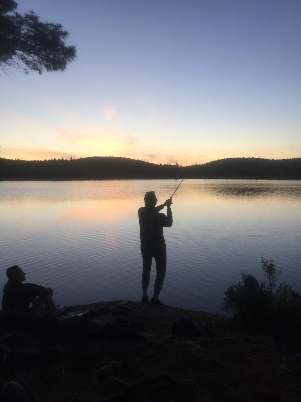 Rozhovor Matěj - kanadská jezera