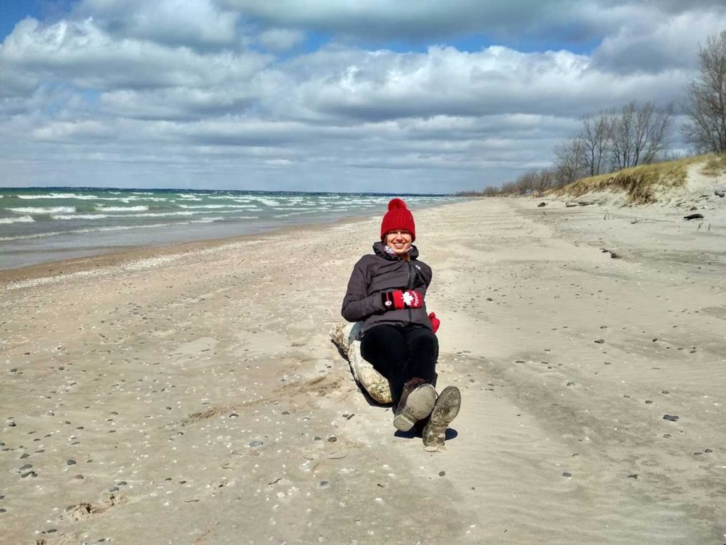 Rozhovor Aneta - Lake Ontario v dubnu
