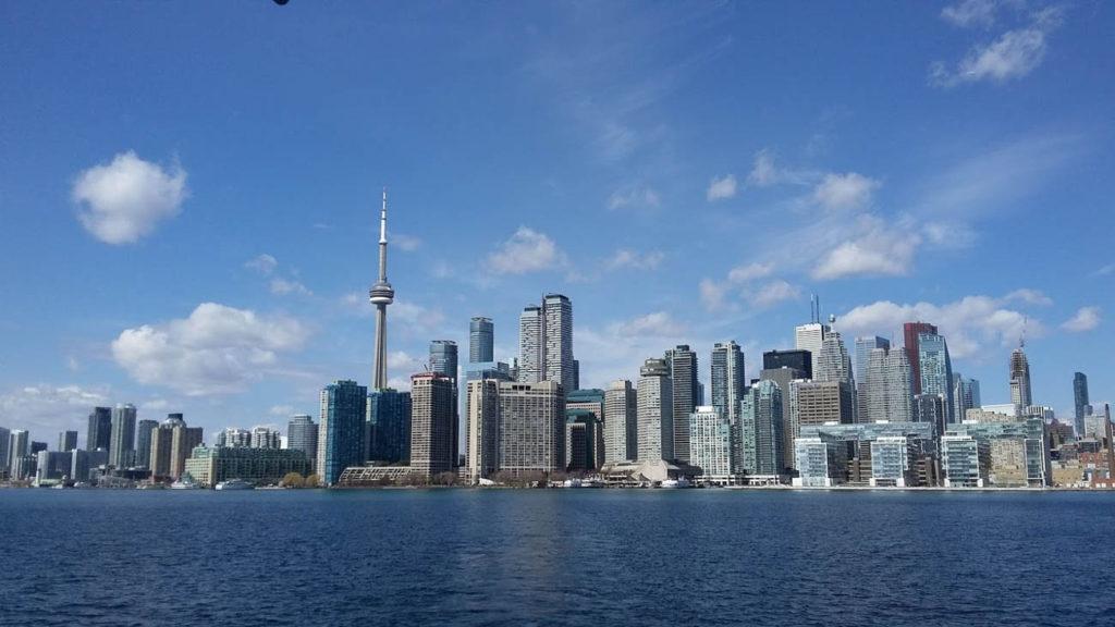 Rozhovor Aneta - pohled z Toronto Island