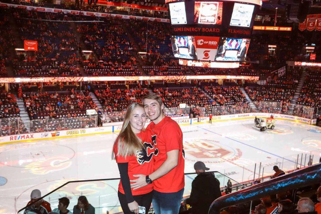 Rozhovor - Matej a Natka - výlet do Calgary na NHL