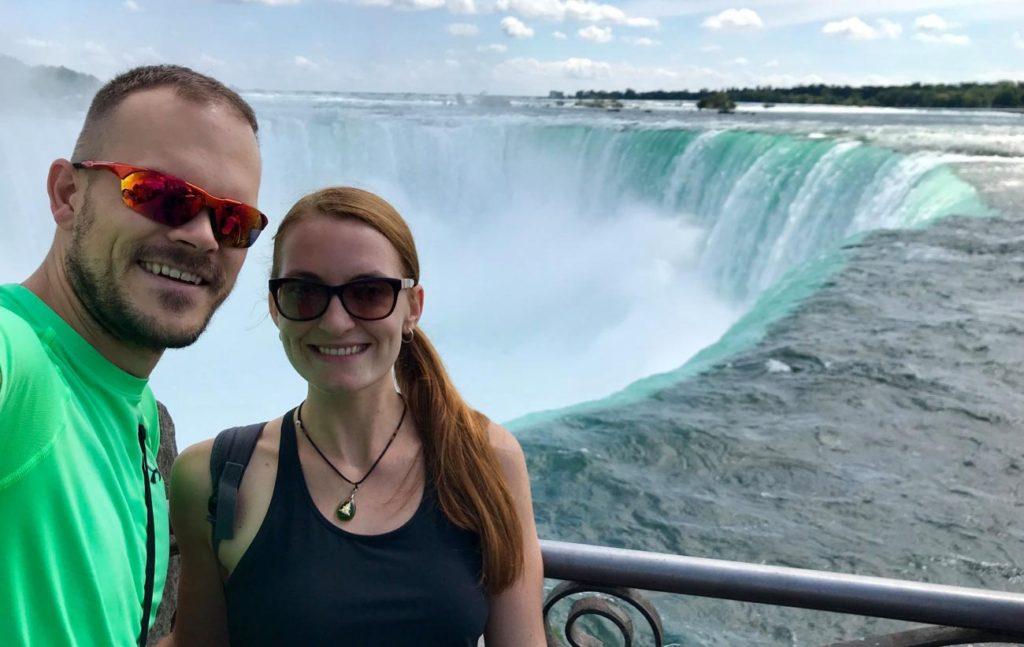 Rozhovor Tom a Kiki - Niagarské vodopády