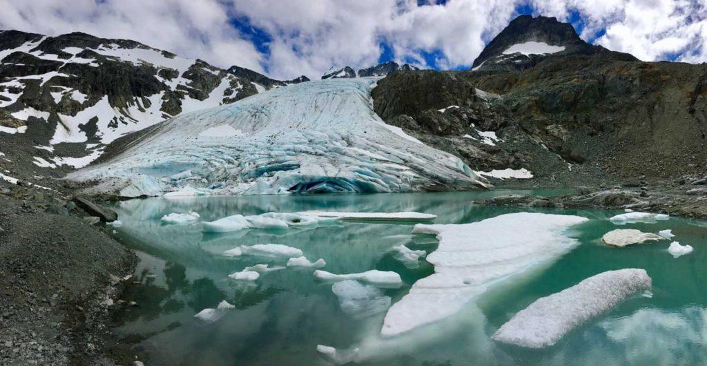 Rozhovor Tom a Kiki - ledovec a kanadské hory