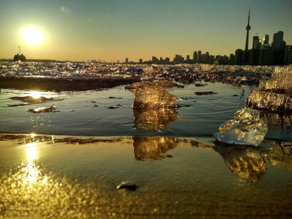 Rozhovor Aneta - Západ slunce v Torontu