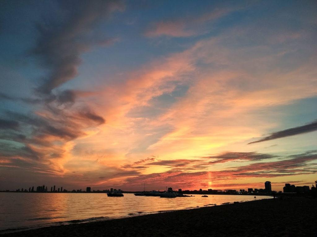 Rozhovor Aneta - západy slunce v Torontu