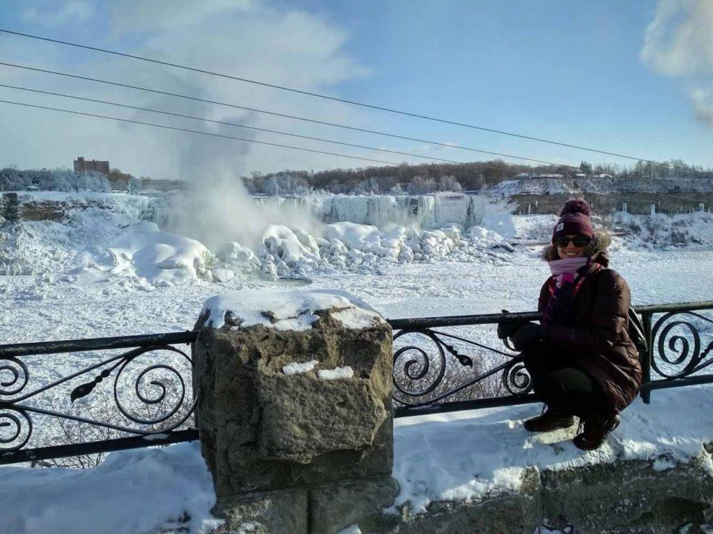 Rozhovor Aneta - Zimní Niagary při -30°C