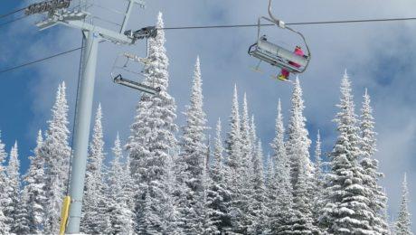 Zimní střediska v Kanadě