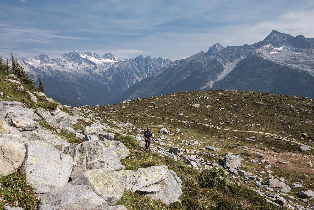 Národní park Glacier v Kanadě