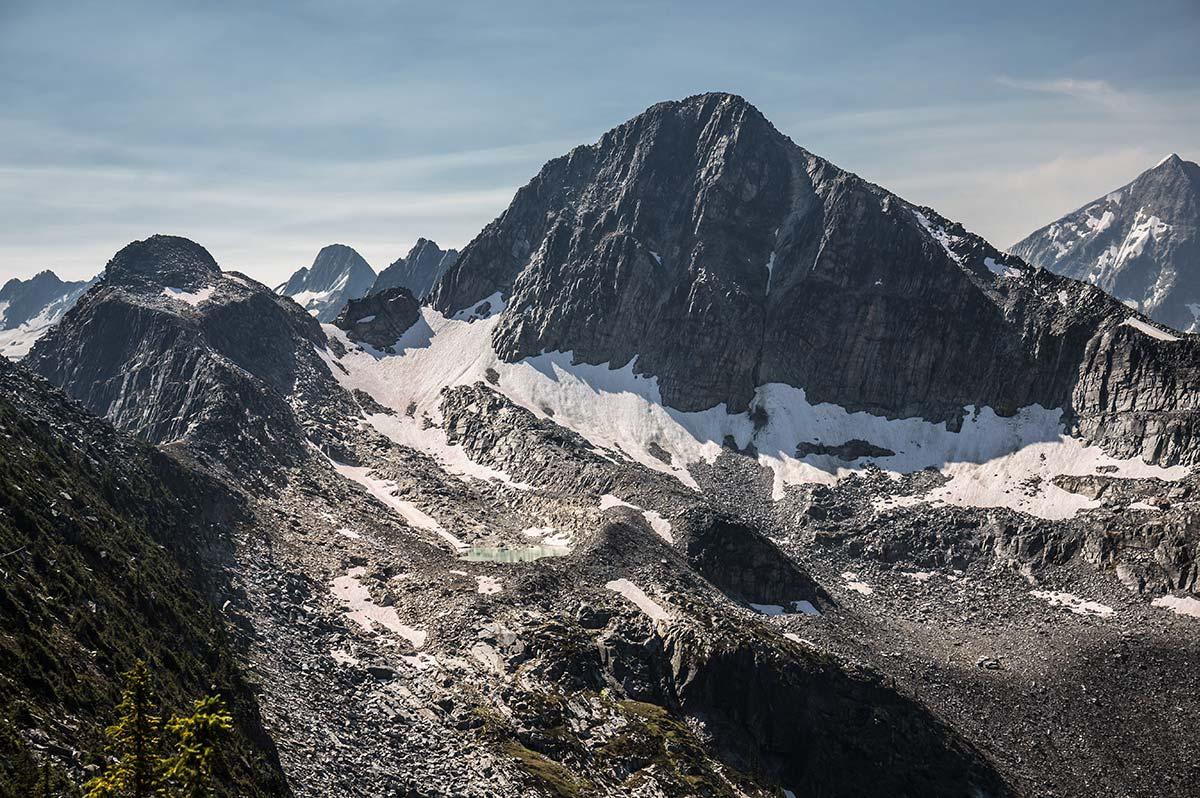 Národní park Glacier - výhledy na ledovce