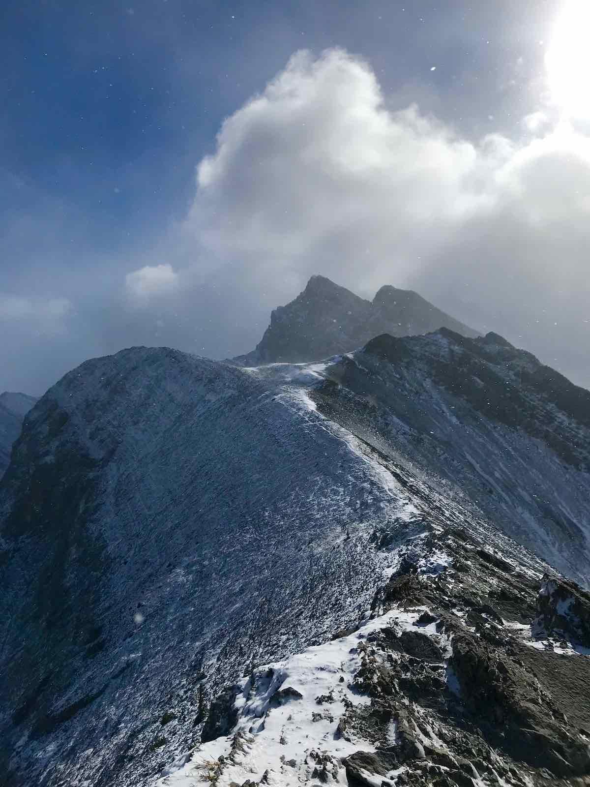 cesta po vrcholu