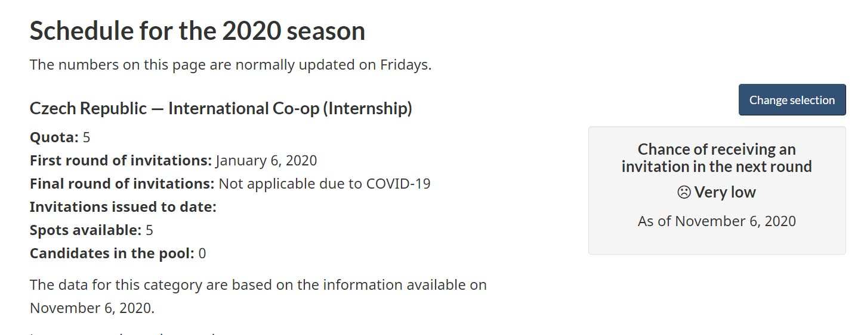 Co-op Internship Kanada - pracovní stáž, kvóta 2020