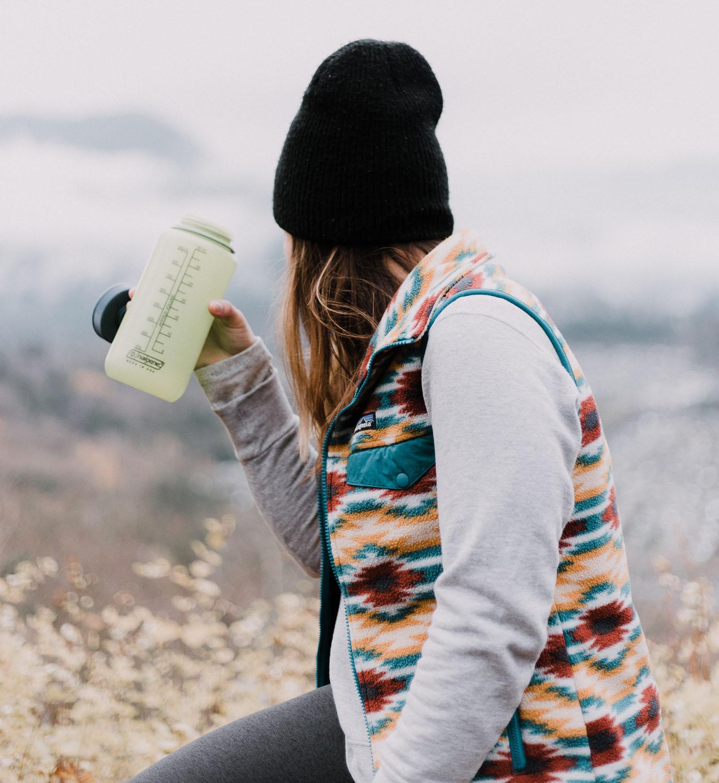 Láhev na vodu - vánoce dárek pro cestovatele