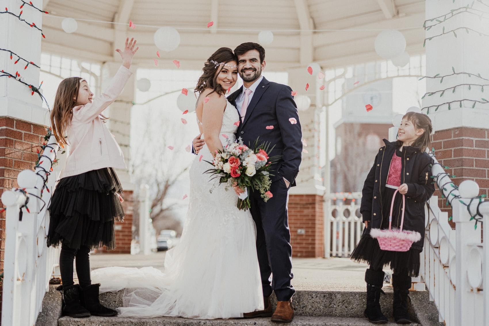 svatba v Kanadě