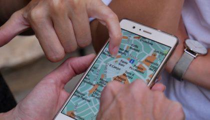 mobilní aplikace cestování roadtrip
