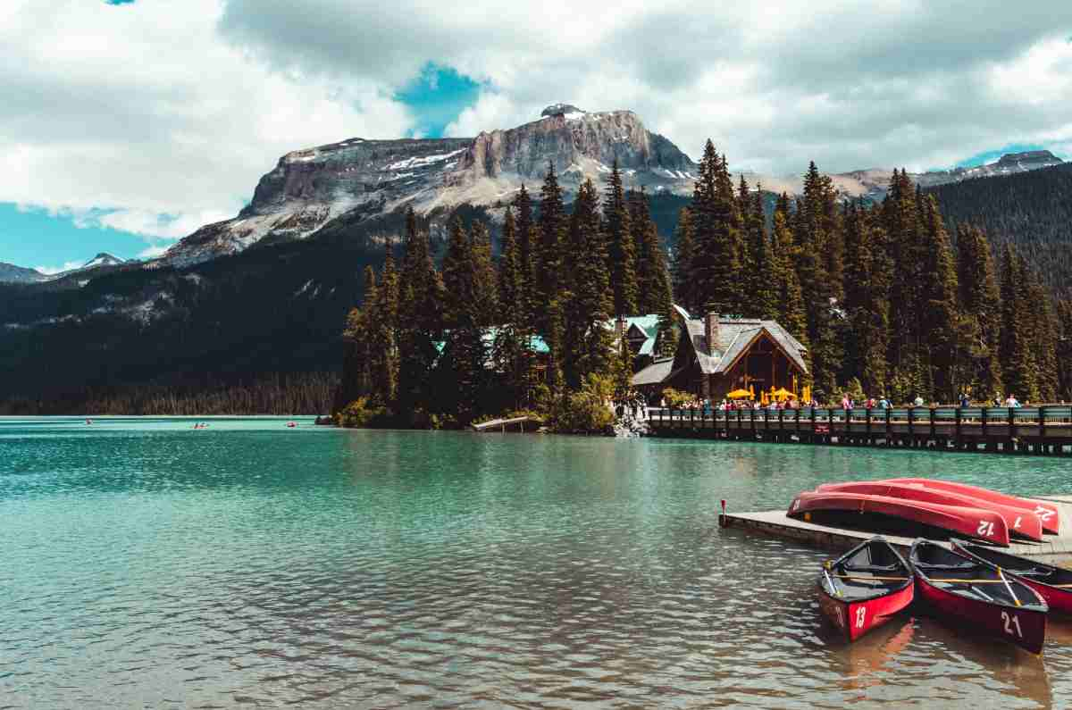 Výlet na Emerald Lake