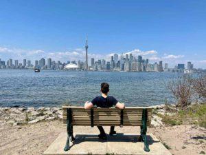 Výhled na Toronto