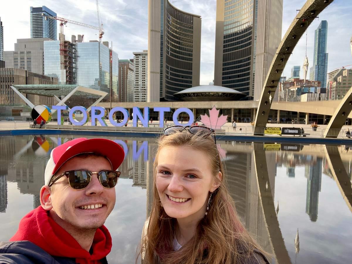 Stream z Toronta s Petrou a Lukášem